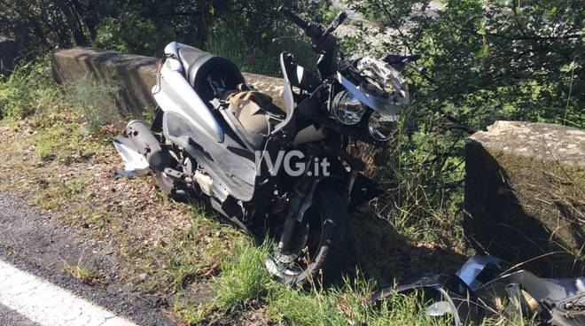 incidente villanova scooter