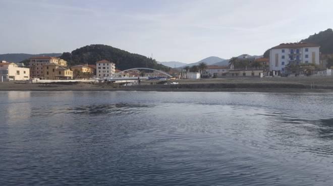 Inquinamento Riva Trigoso, torrente Petronio, guardia costiera, panne,