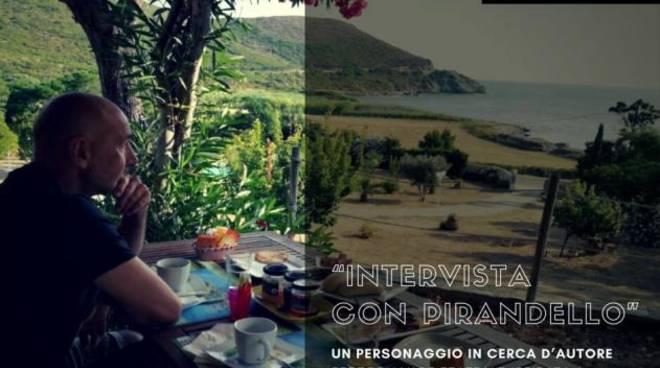 """""""Intervista con Pirandello"""" performance teatrale"""