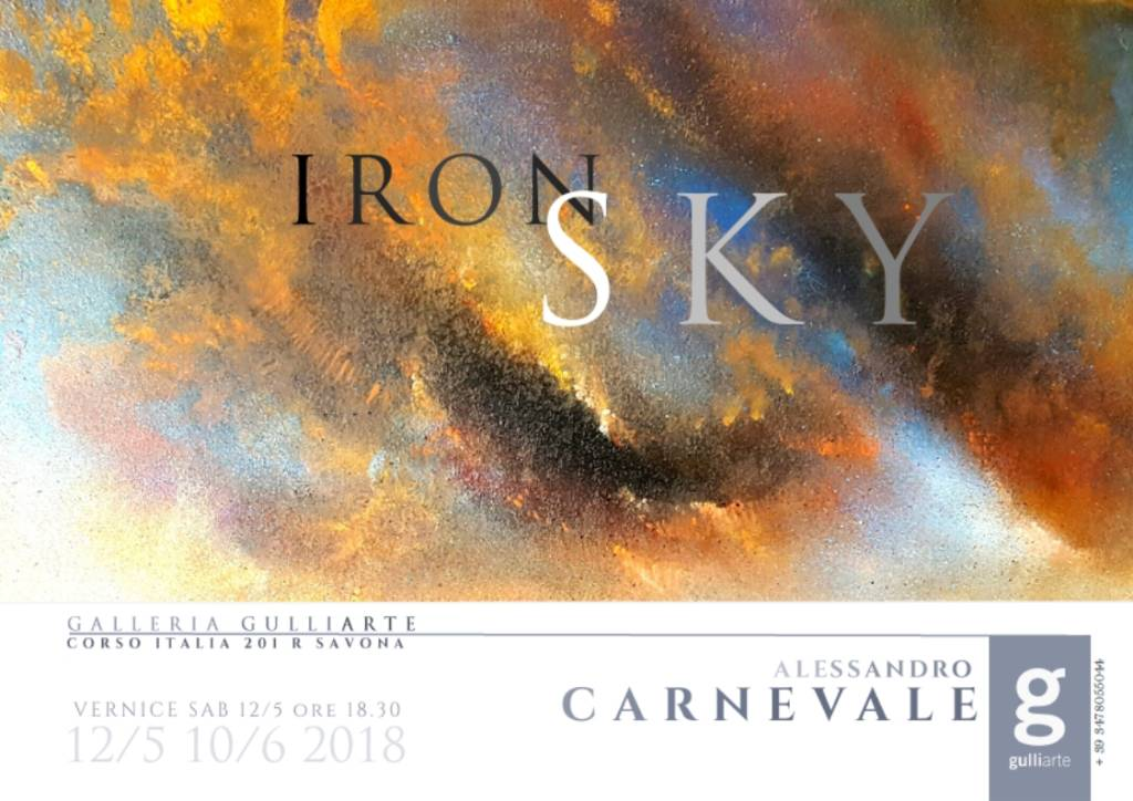 """Iron Sky"" mostra Alessandro Carnevale"