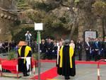 L'inaugurazione di Largo Fiamme Gialle ad Alassio