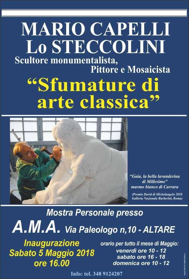 """""""Lo Steccolini"""" mostra d'arte Mario Capelli"""