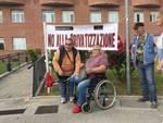 Manifestazione contro la privatizzazione della sanità