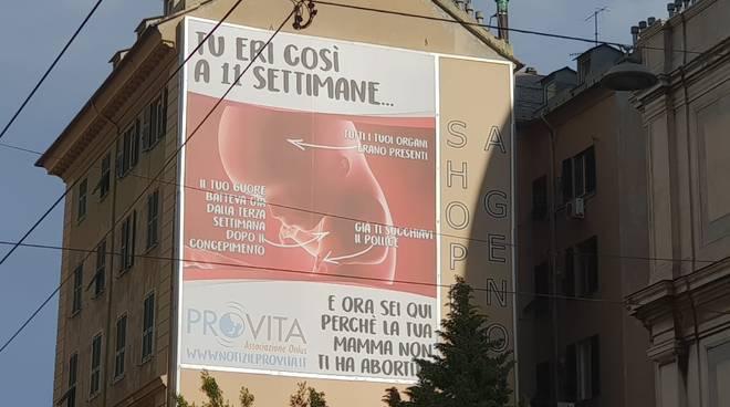 manifesto pro vita anti aborto santa zita