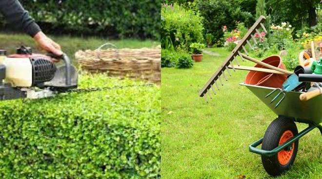 manutentore del verde giardiniere