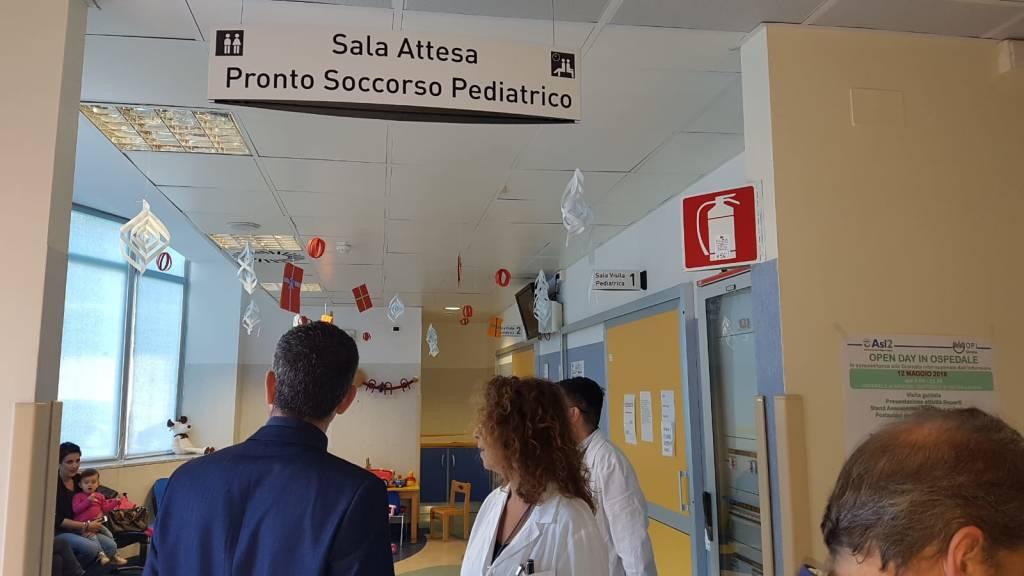 Melis (M5S) in visita al San Paolo