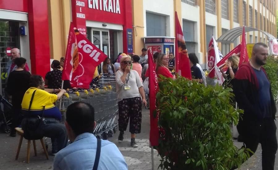 mercatone uno sciopero