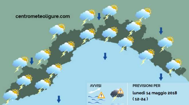 Rieti, nuova allerta meteo martedì per temporali sul Reatino