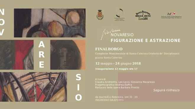 """Mostra d'arte """"Giovanni Novaresio - Figurazione e Astrazione"""""""