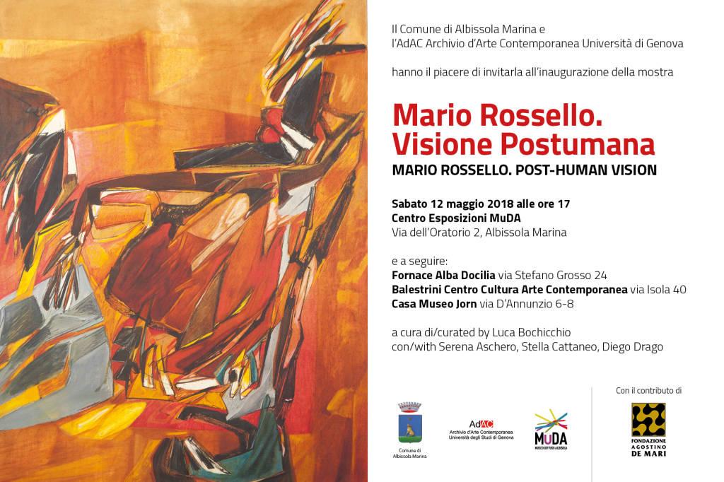 "Mostra ""Mario Rossello. Visione postuma"""