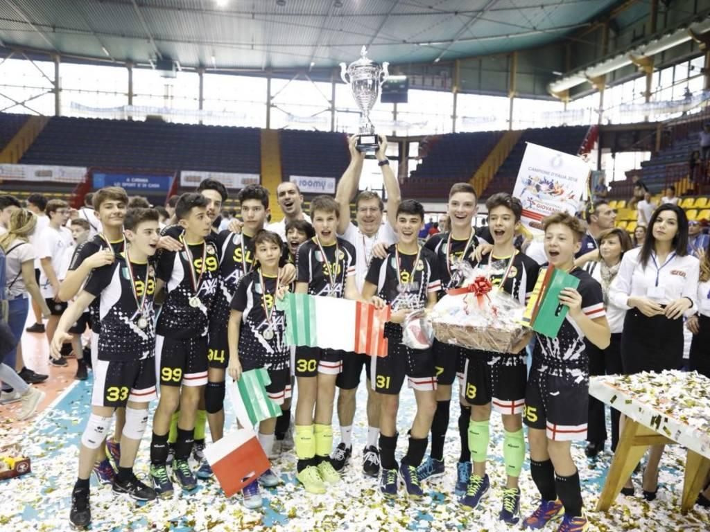 pallavolo_Colombo_Under14_campioni