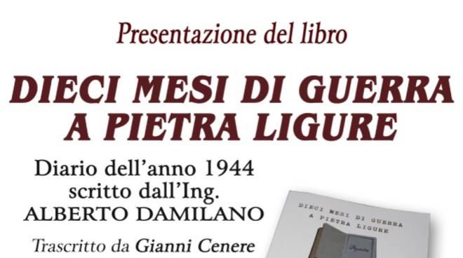 "Presentazione libro ""Dieci mesi di guerra a Pietra Ligure"""