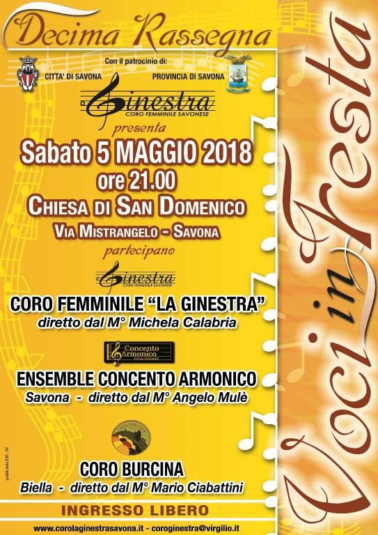 "Rassegna corale ""Voci in Festa"" 2018"