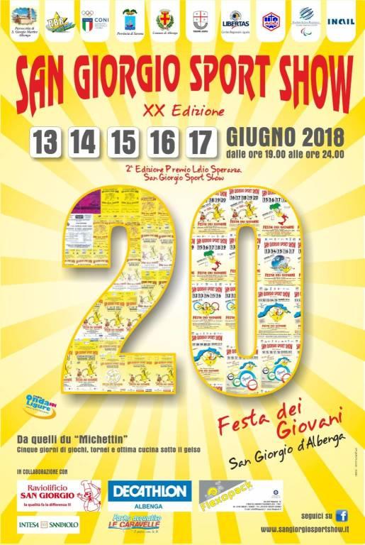 San giorgio sport show 2018