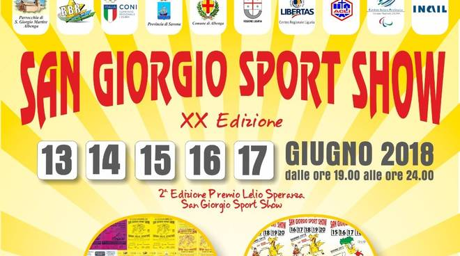 san giorgio sport show 18