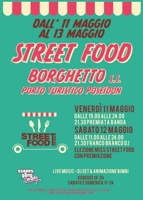 Street Food Festival 2018 Borghetto Santo Spirito