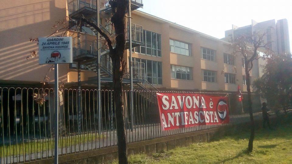 Targa Savona Antifascismo