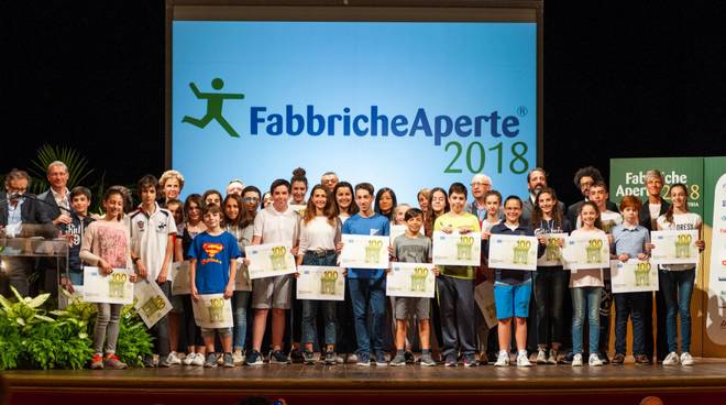 Fabbriche Aperte 2018 Premiazione