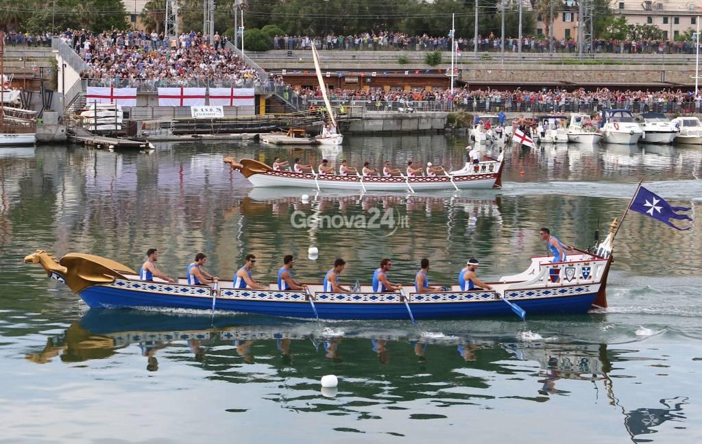 63° edizione della Regata delle Repubbliche Marinare - Genova Pra'