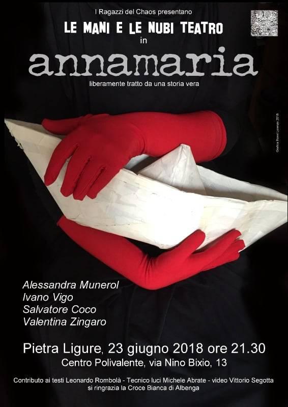 """""""Annamaria"""" Compagnia Le Mani e le Nubi Teatro"""