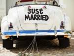 auto sposi nuziale matrimonio