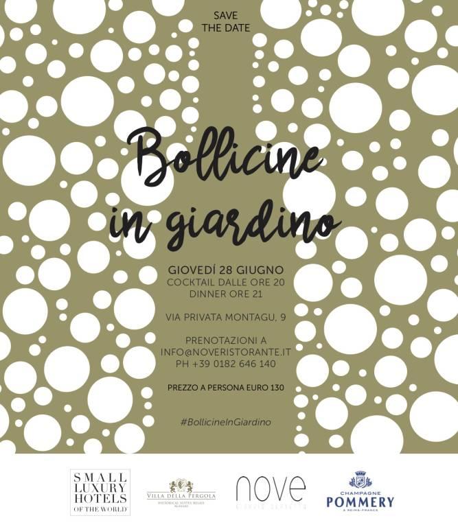 #BollicineInGiardino garden party Alassio