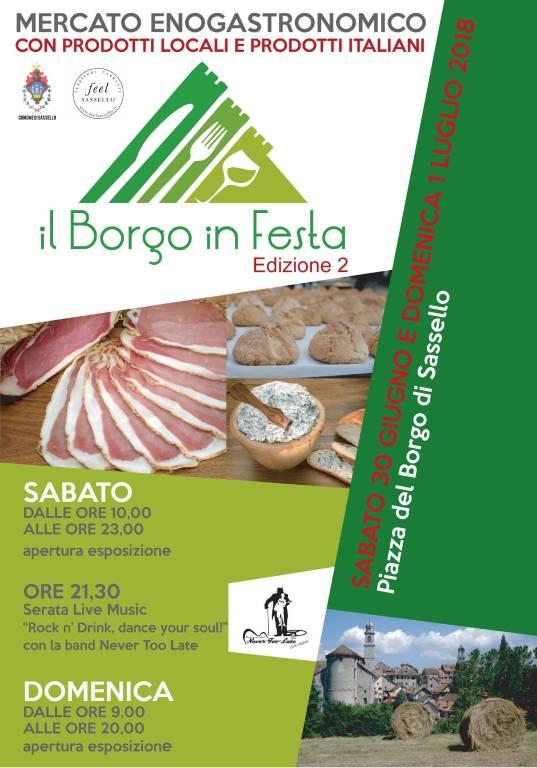 Borgo in festa 2018 Sassello