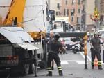 camion incastrato via pacinotti