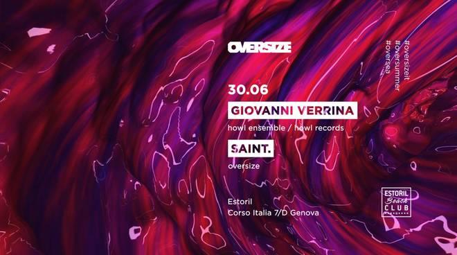 OVERSIZE w: Giovanni Verrina & Saint.