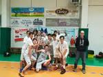 Finale Basket Club, arrivata in finale e premiata dal Presidente Regionale FIP Alberto Bennati