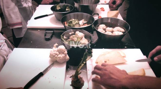 A Savona le lezioni di cucina al Doposcuola dello chef Marco Soldati.