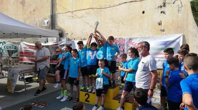 GRAN PREMIO CICLISTICO DI TAGGIA :I giovanissimi al terzo posto.