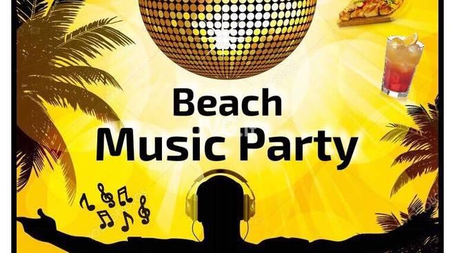 beach music party ai Bagni Colombo di varazze