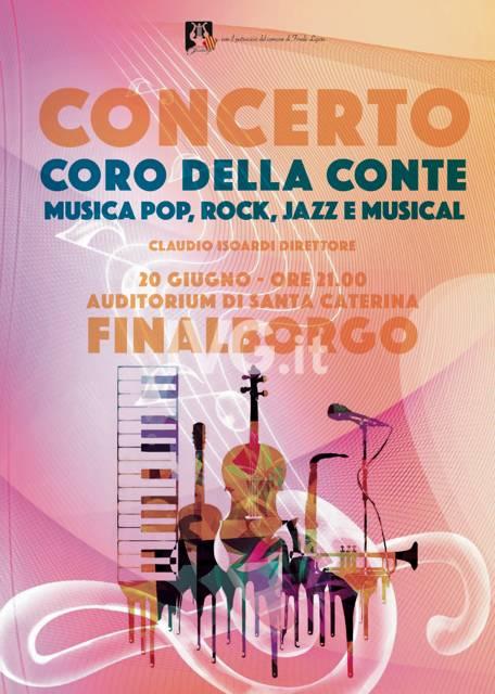 """Prologo della """"Festa della musica 2018"""" con il """"Coro della Conte"""" di Ge-Pegli"""
