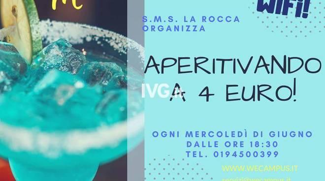 Tutti i mercoledì sera di giugno alla SMS La Rocca di Savona: Aperitivando!