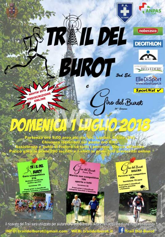 3°Trail Del Burot & 36°Giro Del Burot