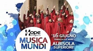 Stasera ad Albisola Superiore: MusicaMundi - coro Hope Singers