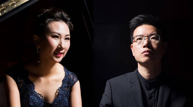 Chongxiao Liu e Wei Gong pianisti cinesi
