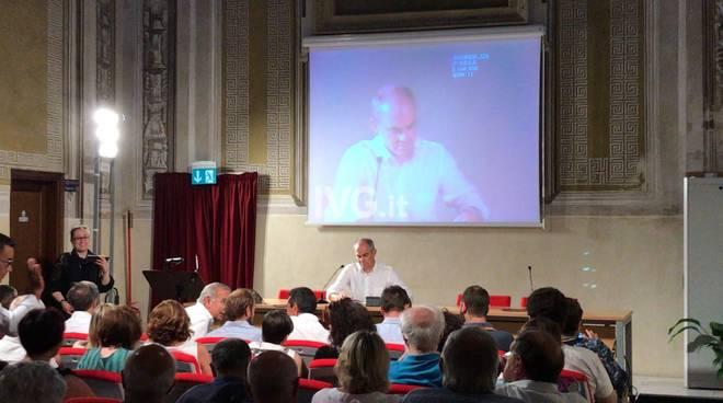 Cie ad Albenga, l'incontro pubblico all'auditorium San Carlo