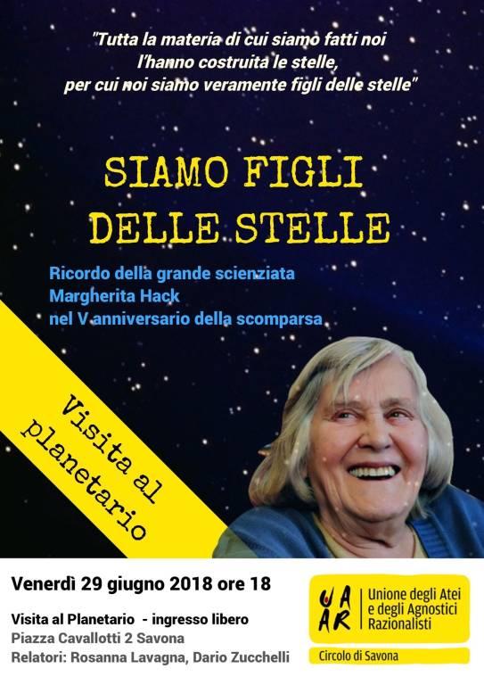 Circolo UAAR scienziata Margherita Hack