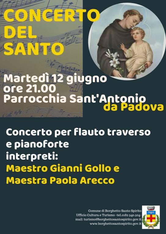 Concerto duo Paola Arecco - Gianni Gollo Borghetto Santo Spirito