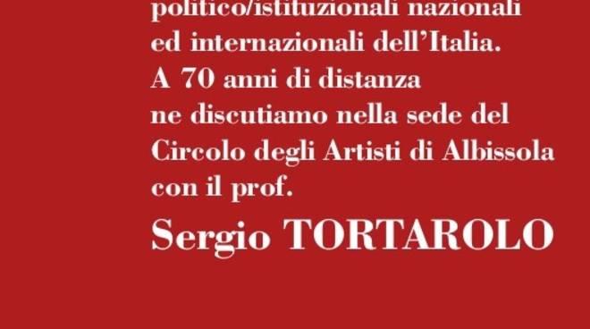 Conferenza Sergio Tortarolo 1948
