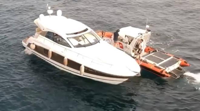 Controlli yacht capitaneria