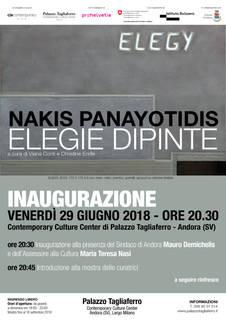 """Elegie Dipinte"" mostra Nakis Panayotidis"