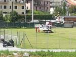 elicottero elisoccorso calizzano