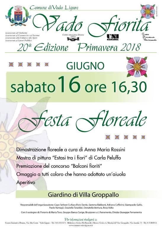 Festa Floreale Villa Groppallo