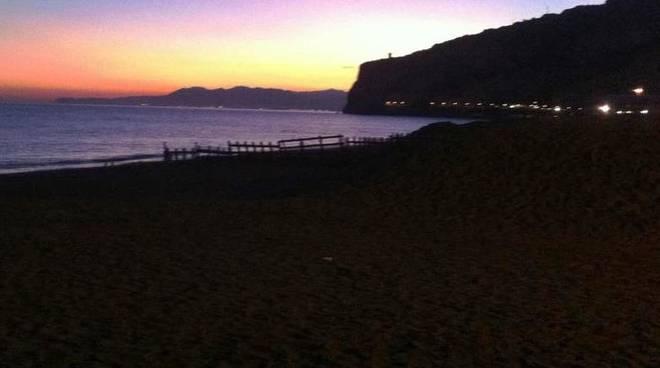 finale tramonto buio