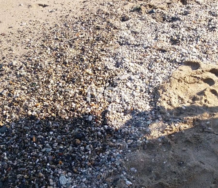 Ghiaia spiaggia Fornaci Savona