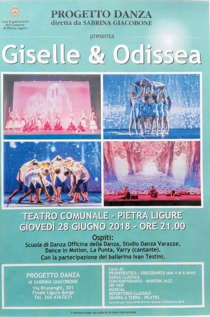 """""""Giselle & Odissea"""" spettacolo Progetto Danza Finale Ligure"""