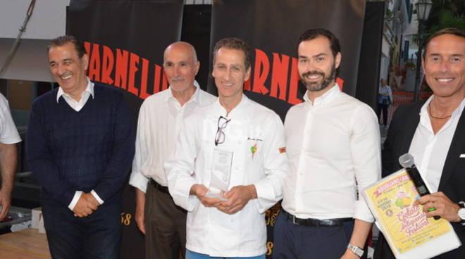 """Guido Cortese sul podio del """"Gelato Artigianale Festival"""" di Agugliano"""